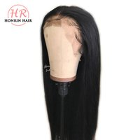 Honrin Hair Silky Straight 360 Lace Wig Pre Plucked Hairline...