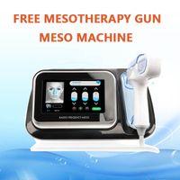 Grand photon portatif de soins de la peau rf sans machine d'injection d'eau de Microneedle d'arme à feu de mésothérapie de aiguille