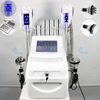 Çok fonksiyonlu Serin Zayıflama Makinesi Yağ Donma RF 40 K Ultrasonik Kavitasyon Yağ Azaltma Lipo Lazer Vücut Şekillendirici Güzellik Enstrüman