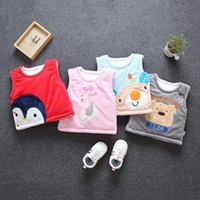 baby clothing cotton vest for girls boys autumn winter coats...