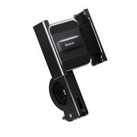 Baseus Aviación bicicleta de la aleación de la motocicleta Vespa manillar espejo retrovisor del titular del teléfono 360º de rotación Para 4.7-6.5 pulgadas Móvil - Silv