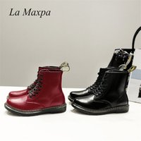 La MaxPa Women Boots Doc Martins 2018 British Dr Martins Vin...