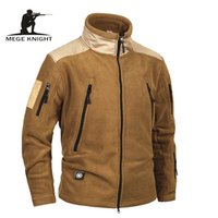 Mege Brand Clothing Tactical Army Clothing Fleece Men's Jacket and Coat, a prueba de viento Chaqueta militar cálida para el invierno