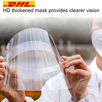 DHL Free Ship Clear Protective Face Shield Mask Plastic Full...
