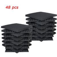 "48 PCS Acoustic Panels Studio Schalldämmschaum Wedge 1"" x 12"" x 12"""