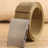 Casual Men Belts Adjustable Outdoor Sports Camping Canvas Be...