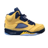 5s Michigan 5 Baskets Baskets Baskets Version Usine Version Nouveautés 2019 Sneakers avec Box de Michael Sports