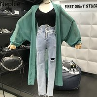 Neploe Sweet Chic Women Blouse Summer 2019 New Arrival Bawti...