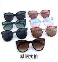 Gafas de sol de color de la película de gafas Color de la película Hot Drive Frontera UV Tide Gafas Outdoor 13JL Hombres anti-marco sin marco y venta grande I1 AQKes