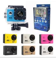 Самая дешевая 4K Действие камера F60 F60R WIFI 2.4G дистанционного управления Водонепроницаемого видео камера спорт 16MP / 12MP 1080p 60FPS Дайвинг видеокамера