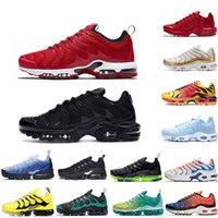 2019 Original NIKE Tn Mercurial Designer Sneakers Chaussures Homme TN Running Shoes Men Zapatillas Mujer Mercurial TN Running Shoes 36-46