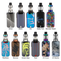 Vaporesso Luxe S 220W Touch Screen TC Kit with 8ml SKRR-S Tank Atomizer 510 thread Mod QF Strips Coil QF Meshed Coil