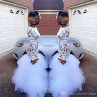 2019 African Sexy See Through New Mermaid Prom Dresses Long ...