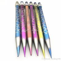 티타늄 Dabber 살짝 적셔 도구 연필 모양 스타일 파이렉스 (Pyrex) 오일 왁스 Dabber 도구는 유리 물 봉 수화물 흡연 못 들어 선택을위한 5 색 양극 처리