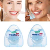 50M Portable Micro cire Fil dentaire interdentaire Brosse dents bâton cure-dents Floss Choisissez Hygiène bucco-dentaire propre fil gros N0501