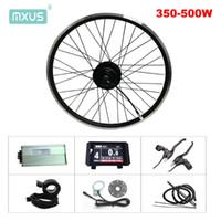 전기 자전거 36V 250W 350W 48V 500W는 변환 키트 MXUS XF07 XF08 XF15F XF15R 허브 모터 전면 후면 휠 MTB 자전거 키트를 ebike