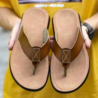TOP 2022 Men Women Slide Sandals Designer Shoes Slide Summer Fashion Wide Flat Slippery With Thick Sandals Slipper Flip Flops 09