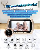 4. 3 Inch 720P Wireless Intercom WIFI Doorbell