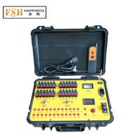 フェデックス/ DHL送料無料、ディスプレイ花火焼成システム、24チャンネルリモコン、順次火災機能
