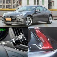 Manejo de la rueda Paddle Shift Shifters de extensión de aluminio para HYUNDAI COUPE Rohens 2012-13
