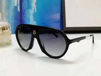 New qualidade superior 001 homens óculos de sol homens vidros de sol mulheres óculos de sol estilo de moda protege os olhos Óculos de sol lunettes de soleil com caixa