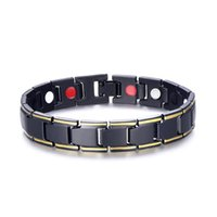 Magnetic Bracelet Chains Stainless Steel Energy Germanium Ma...