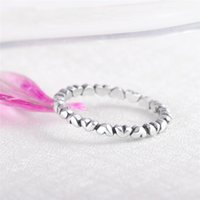 LQL 925 sterling silver rings heart shape wedding party finger ring for women jewelry 3547