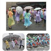 لمرة واحدة المعطف الأزياء الساخن المتاح المطر البونشو السفر المطر معطف المطر ارتداء السفر المطر معاطف OOA7005-6