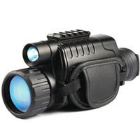 Infrared Night- Vision Monocular 5X40 Zoom Night- Vision Goggl...