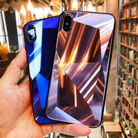 New for iphone 11 pro laser 3D rhombus glass phone case