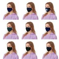 Код Респиратор Science Technology Feeling Black Face Маска моющиеся Дыхательные Mascherine Мода Многоразовых Люди Женщины Kid 6 47by C2