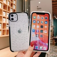 iPhone Phone Case Polvere per 11 TPU molle trasparente Pro XS Max X XR antiurto per iPhone 6 8 Caso 7 Plus