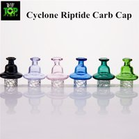 Scientific Riptide Turbine Directional Carb Kappe für Quarz Banger Beracky Cyclone Riptide Glasspinning Carb Kappe AD 32mm.