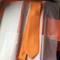 العلامة التجارية الجديدة الرجال التعادل الكلاسيكية الغزل مصبوغ الحرير التعادل 7.5 سنتيمتر الأزياء الزفاف التعادل الأعمال الرقبة العلاقات هدية مربع حزمة