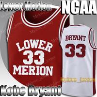 Lower Mission High School Black 33 Mamba Jersey Allen 3 Iverson 23 Michael Jersey MJ Dwyane 3 Wade Jimmer 32 Fredette Basquete 2-19