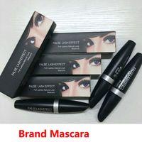 M marca de maquiagem Mascara False Lash Effect completa cílios naturais rímel preto à prova d'água M520 Olhos Make Up DHL frete grátis Em estoque