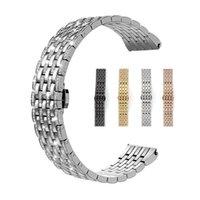 iWatch serisi 5 4 3 2 1 Apple İzle 44mm 42mm 40mm 38mm Paslanmaz Çelik Metal İzle Band Lüks Yapay elmas saat kayışı Elmas Kayışı