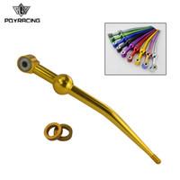 PQY - Shifter Short Shifter 96-00 pour Honda Civic EK B16 B18 B20 Steel Shift 97 98 99 PQY-SFT9231