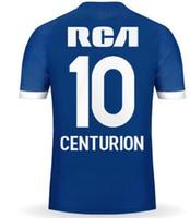 2019 nueva personalidad personalizada Argentina Racing Fan 10 Centurion Fernández 8 7 BOU Thai Quality Sports Jerseys, camisetas personalizadas Tienda en línea