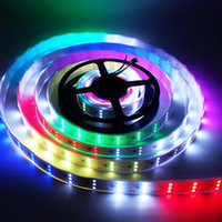 Luzes LED Strip WS2811 5050 RGB 12V flexível LED Strip Luz fita Pixel endereçável Magic Color Non IP65 IP67 impermeáveis ​​luzes de Natal
