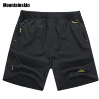 Short à séchage rapide 8XL Casual Men pour hommes de Mountain Mountains Summer Short de plage respirant Pantalon Homme Shorts Vêtements SA198
