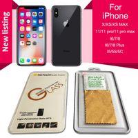 iPhone SE 2020 아이폰 12 11 Pro Max X / XS Max XR 6/7/8 Plus 9H에 대한 강화 유리 화면 보호기