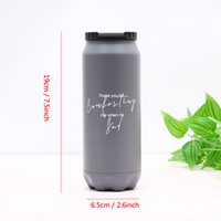 Stainless Steel Double Wall Water Bottle 17oz Vacuum Insulated Water Bottle Fashion Large Capacity Tumbler Outdoor Travel Car Mug BC BH1502