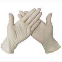 Einweg-Schutz Nitril-Latex-Handschuhe Lebensmittel Handschuhe Universal-Haushalt Garten Reinigung Handschuhe Lebensmittelhandhabung Küchenzubehör LJJA4042