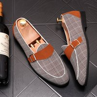 Men' s Shoes oxford shoes Fashion Loafers Men Luxury Han...