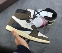 Designer shoes 1 HIGH OG I Travis brown BLACK 1s men basketb...