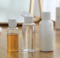 30ml Bouteille vide Distributeur Container Shampooing Lotion squeeze pot en plastique transparent Maquillage Voyage bouteille Rechargeables KKA7765