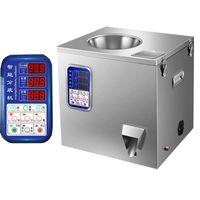 220W التعبئة الكمية الشاي آلة مسحوق الأرز والدقيق القهوة الحضض الغذاء الأجهزة التلقائي آلة وزنها ملء