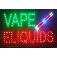 """لافتة متجر دخان """"آي دي"""" لمحل دخان """"بينز-نيون"""" لافتات متجر السوائل"""