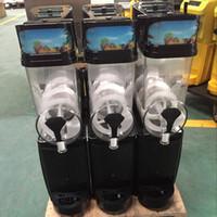 15L * 3 toptan 3 tankları rüşvet makine yumuşak dondurma buz rüşvet yapımcısı ticari kar kum buz makinesi eritmek